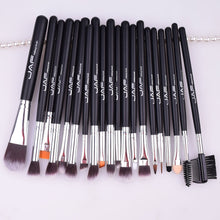 JAF Brand 20 pcs/set Makeup Brush Professional Foundation Eye Shadow Blending Cosmetics Make-up Tool 100% Vegan Synthetic Taklon - Bohemian Lily