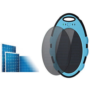 Solar Charger, 4000mAh Portable Solar Power Bank - Bohemian Lily