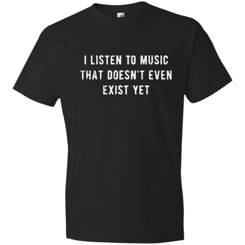 Listen To Music Lightweight T-Shirt 4.5 oz
