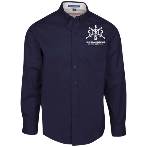 Spartan SBCC Men's LS Dress Shirt