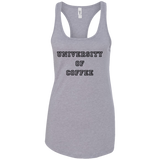 University of Coffee Racerback Tank