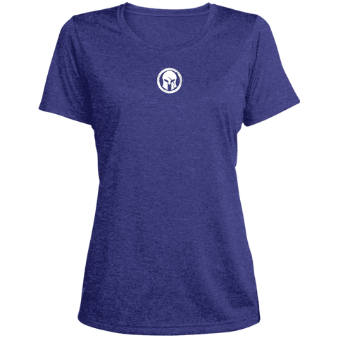 Spartan Ladies' Heather Dri-Fit Moisture-Wicking T-Shirt