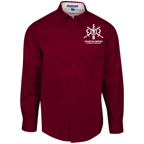 SBCC Spartan Men's LS Dress Shirt