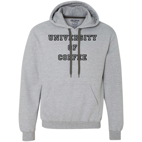 University of Coffee Heavyweight Pullover Fleece Sweatshirt