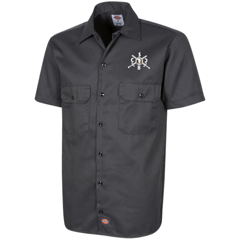 SBCC Dickies Men's Short Sleeve Workshirt