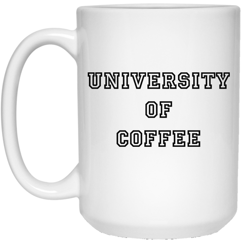 U of C 15 oz. White Mug