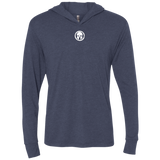 Spartan Unisex Triblend LS Hooded T-Shirt