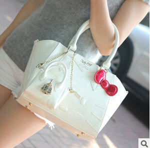 Hello Kitty Leather Handbag -