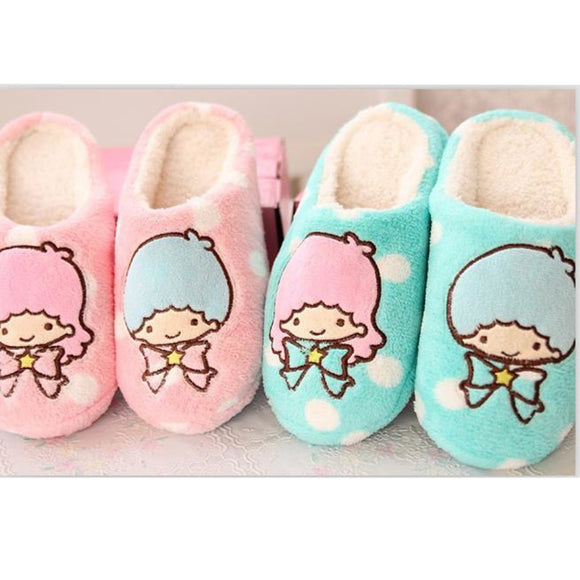 Little Twin Stars Children Home Slippers -