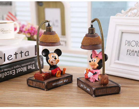 Mickey Minnie Mouse Night Lamp -