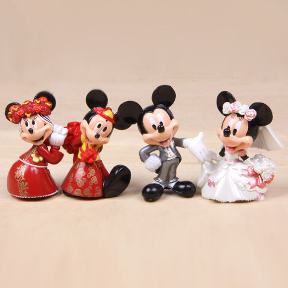 Mickey Minnie Mouse Figurine (Wedding) -
