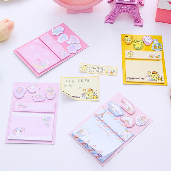 Sanrio Memo Pad Sticky Notes