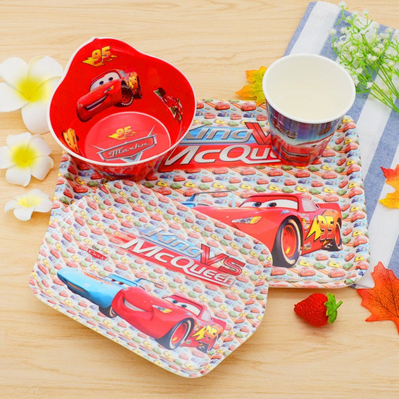 Cartoon Melamine Tableware Set -
