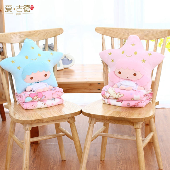 Little Twin Stars Cushion & Blanket -
