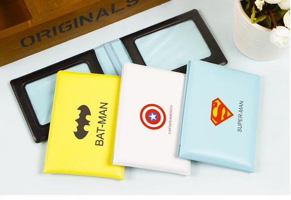 Super Heroes Card Case Holder