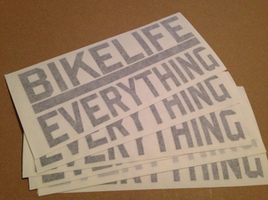 DECAL - BIKE LIFE
