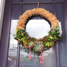 Living Succulent Wreath Workshop