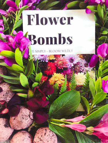 Flower Bombs