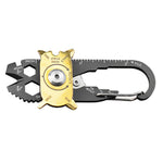 The Ultimate Survival 20-in-1 Tool Keychain, Stainless Steel