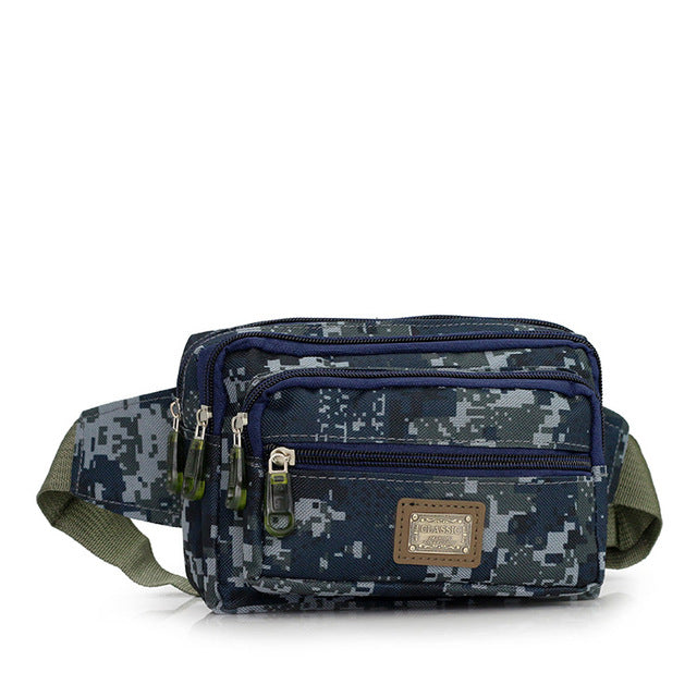 Waterproof Digital Camo Fanny Pack (4 Colors)