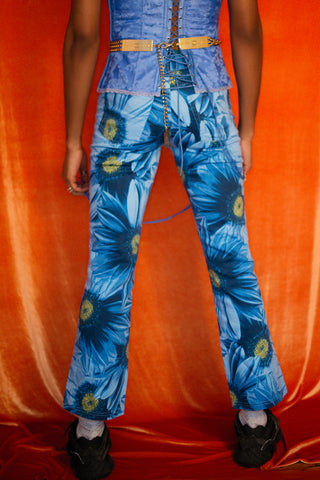 Flowery pants from 90'