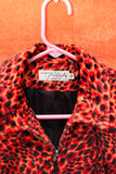 FRENCH ANIMAL PRINTED JACKET