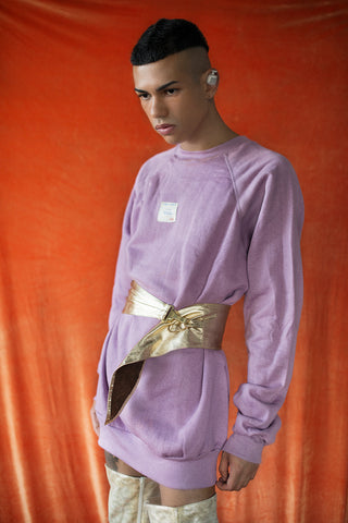 Lilac vintage sweater/dress