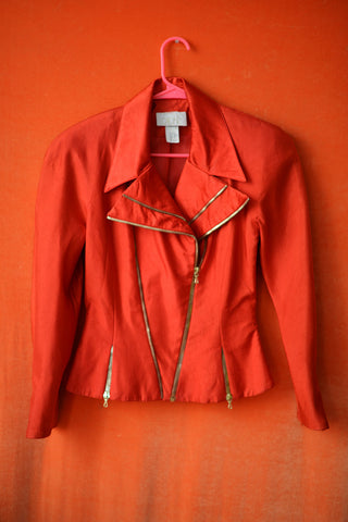 CACHE red vintage jacket