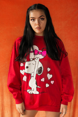 Snoopy Valentines sweater
