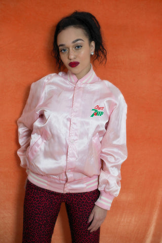 80' Seven up bomber jacket