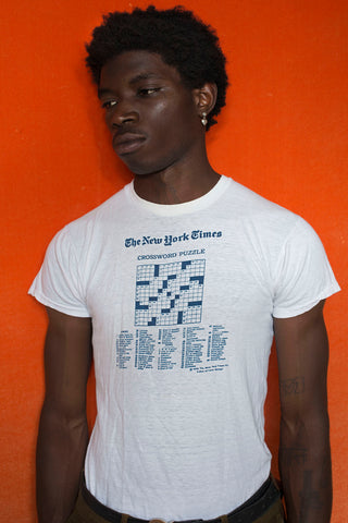 70' NEW YORK TIMES T-shirt