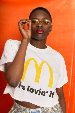 MAC DONALD CROPPED TSHIRT