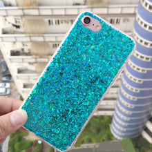 Fashion Bling Shining Powder Sequins Phone Cases For iPhone 7 6S 8 Plus Soft Silicone Glitter Back Cover For iPhone 6 S