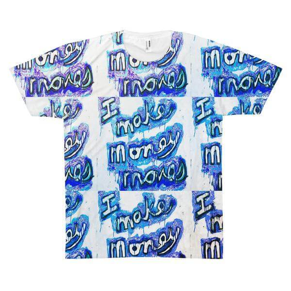 I Make Blue-y Moves Men's Graphic T-Shirt - PopCoutureClub