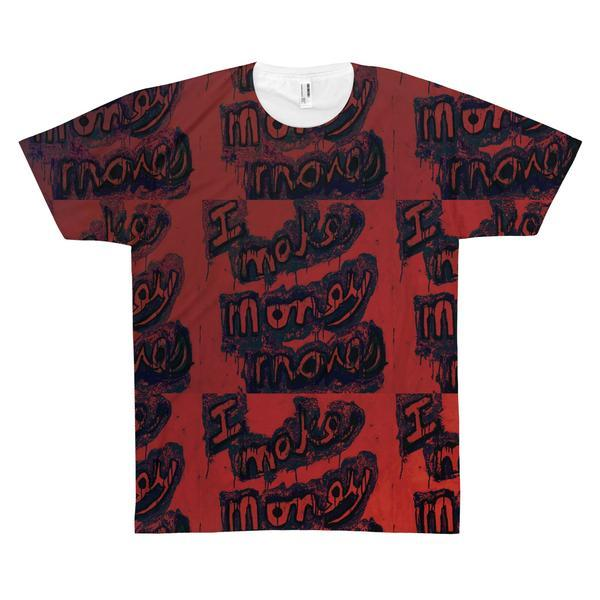 I Make Devil Movez Men's Printed T-Shirt - PopCoutureClub