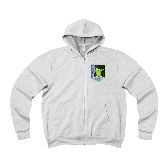 Goatin' 2 A Party Unisex Zip Up Hoodie Sweatshirt-PopCoutureClub