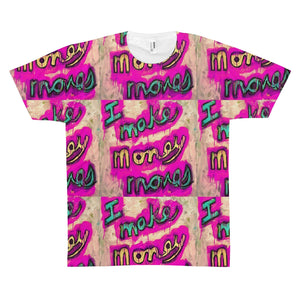 I Make Money Moves Patterned Men's Tee-PopCoutureClub