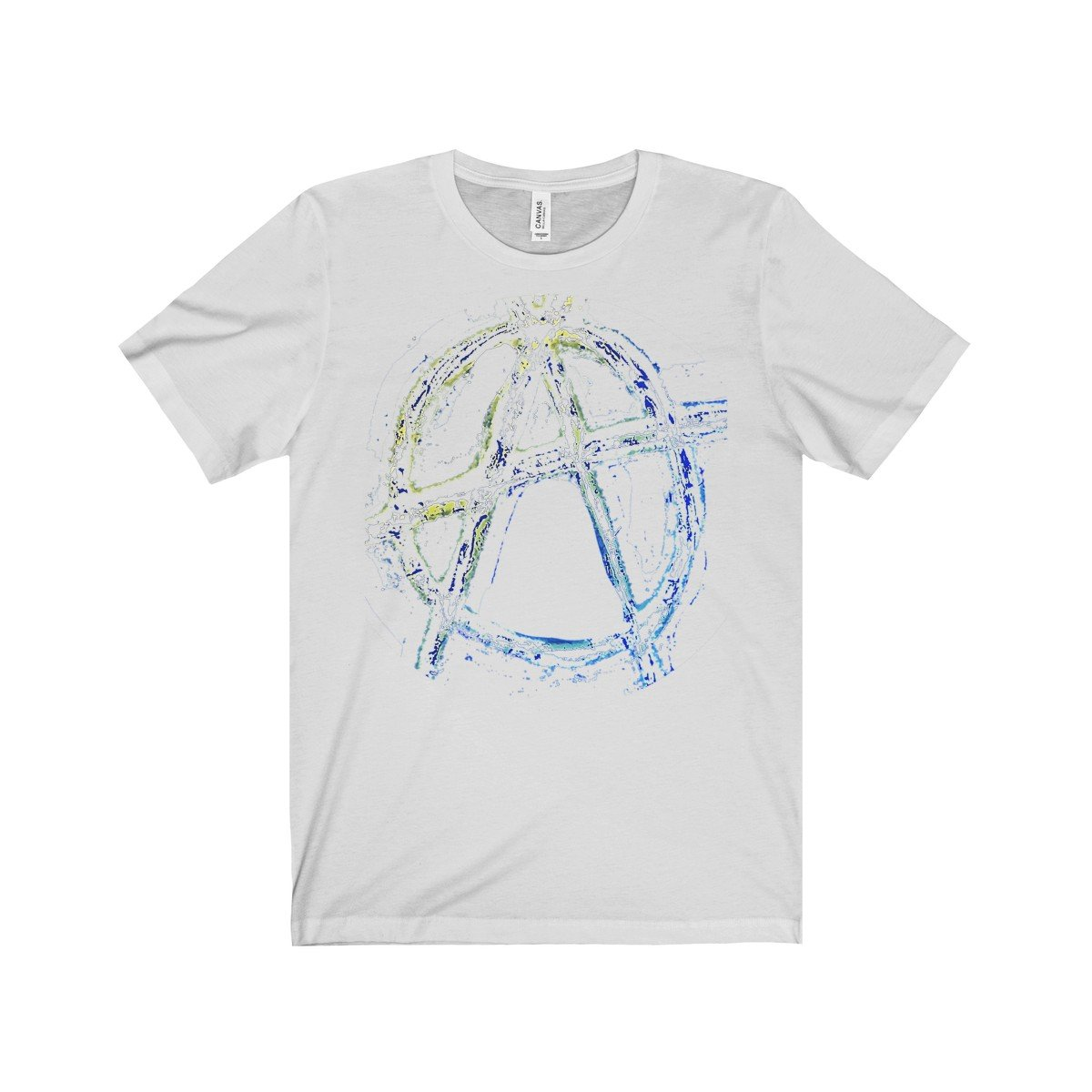 --ANARCHY RETRO Men's Jersey Short Sleeve Tee-PopCoutureClub--