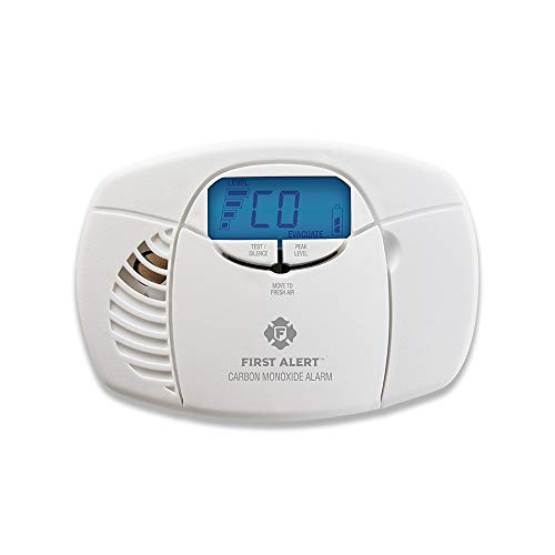 Carbon Monoxide Detector with Digital Display