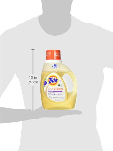 Tide Purclean Plant-Based Laundry Detergent, Honey Lavender Scent