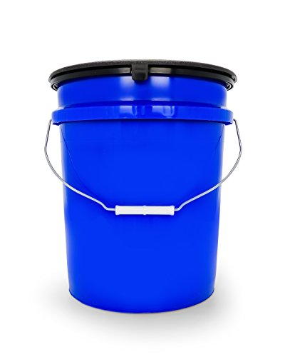 Camco Portable Toilet Bucket with Seat and Lid Attachment