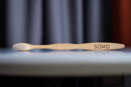 Somo Natural Biodegradable Bamboo Adult Toothbrush