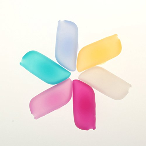 OUNONA Silicone Toothbrush Covers