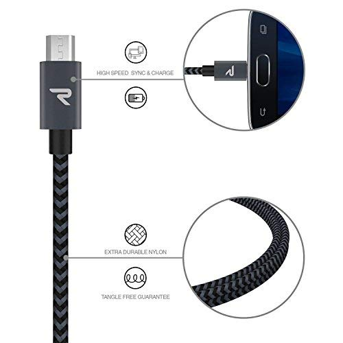 RAMPOW - Braided Micro-USB Cable