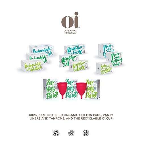 Oi Organic Cotton Panty Liners - Ultra Thin