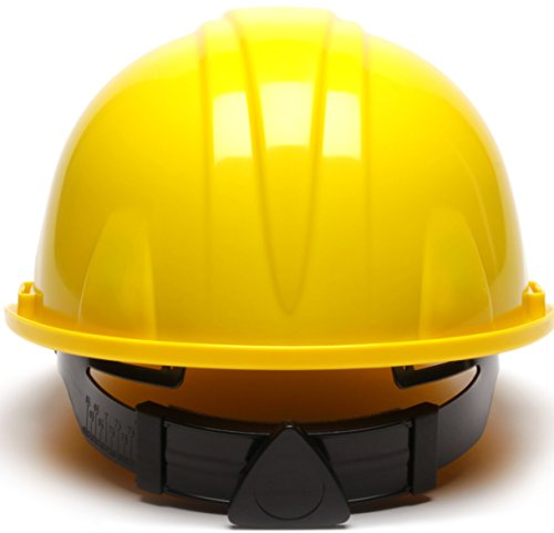Pyramex Hard Hat w/ 4 Point Ratchet Suspension