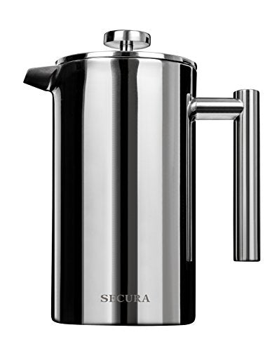 Secura - Stainless Steel French Press Coffee Maker