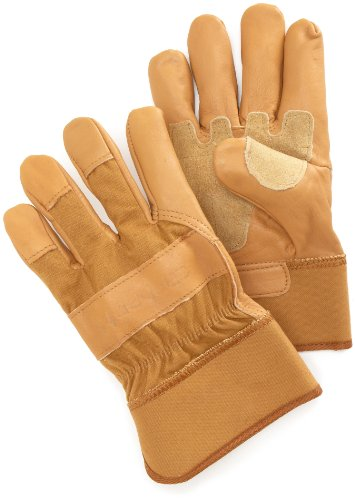 Carhartt Grain Leather Work Glove with Safety Cuff
