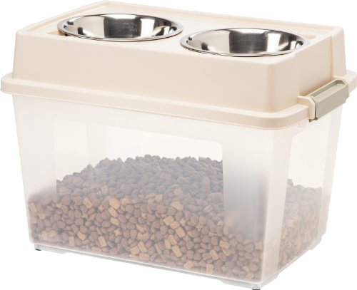 IRIS Large Elevated Feeder with Airtight Storage