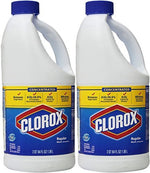 CONCENTRATED Clorox Regular Bleach 64 oz - 2 pack